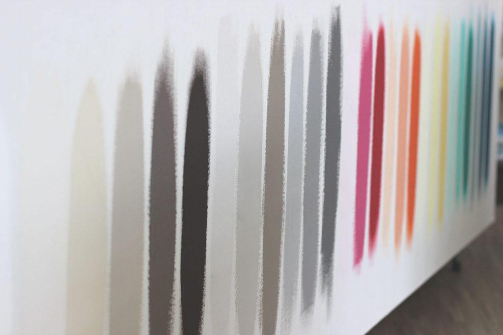 Peintures par le Hall du Papier Peint