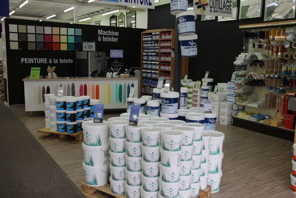 Hall du Papier Peint - Peintures, colles et nuancier